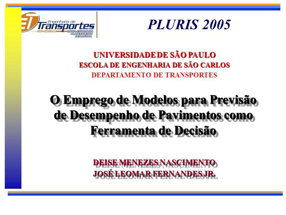 Desenvolvimento de modelos de previsão de desempenho de pavimentos asfálticos com base em dados da rede de rodovias do Estado da Bahia w Orientador: P