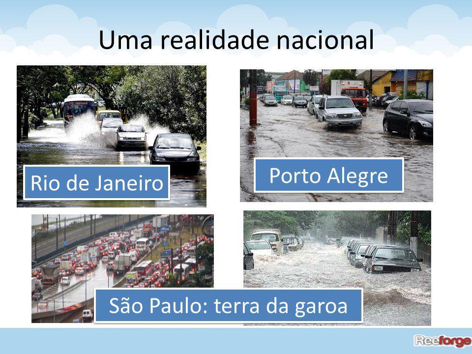 Uma realidade nacional Rio de Janeiro Porto Alegre São Paulo: terra da garoa