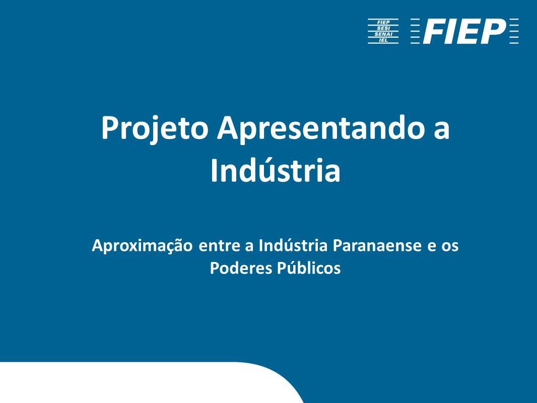 Projeto Apresentando a Indústria Aproximação entre a Indústria Paranaense e os Poderes Públicos