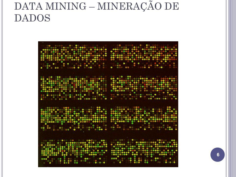 DATA MINING – MINERAÇÃO DE DADOS 6
