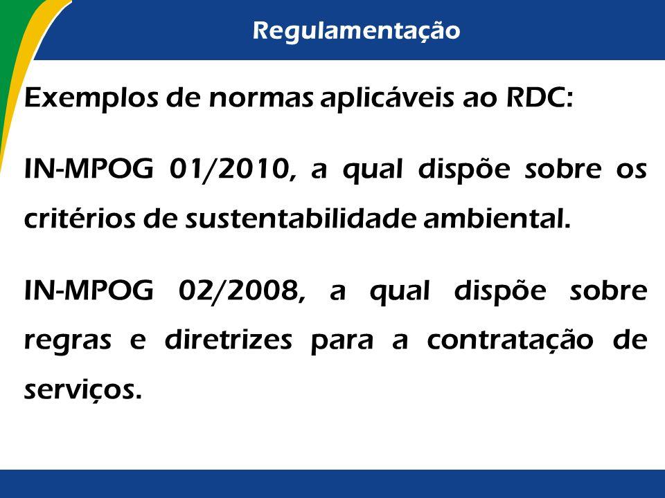 Regulamentação O procedimento licitatório possui apenas caráter instrumental com o intuito de viabilizar o preenchimento de determinada necessidade da