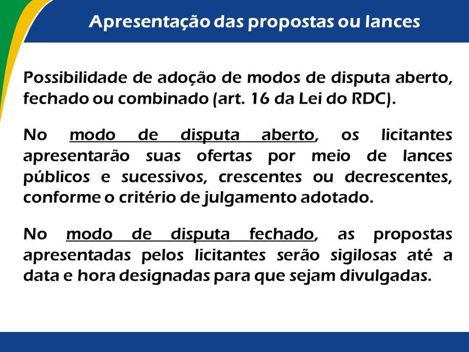 Regulamentação Outras normas inferiores foram editadas para disciplinar o próprio procedimento licitatório da Lei n° 8.666/1993. Assim, essas normas n