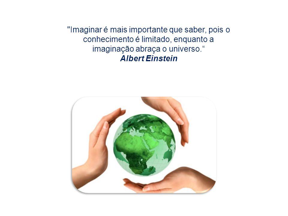 Imaginar é mais importante que saber, pois o conhecimento é limitado, enquanto a imaginação abraça o universo.