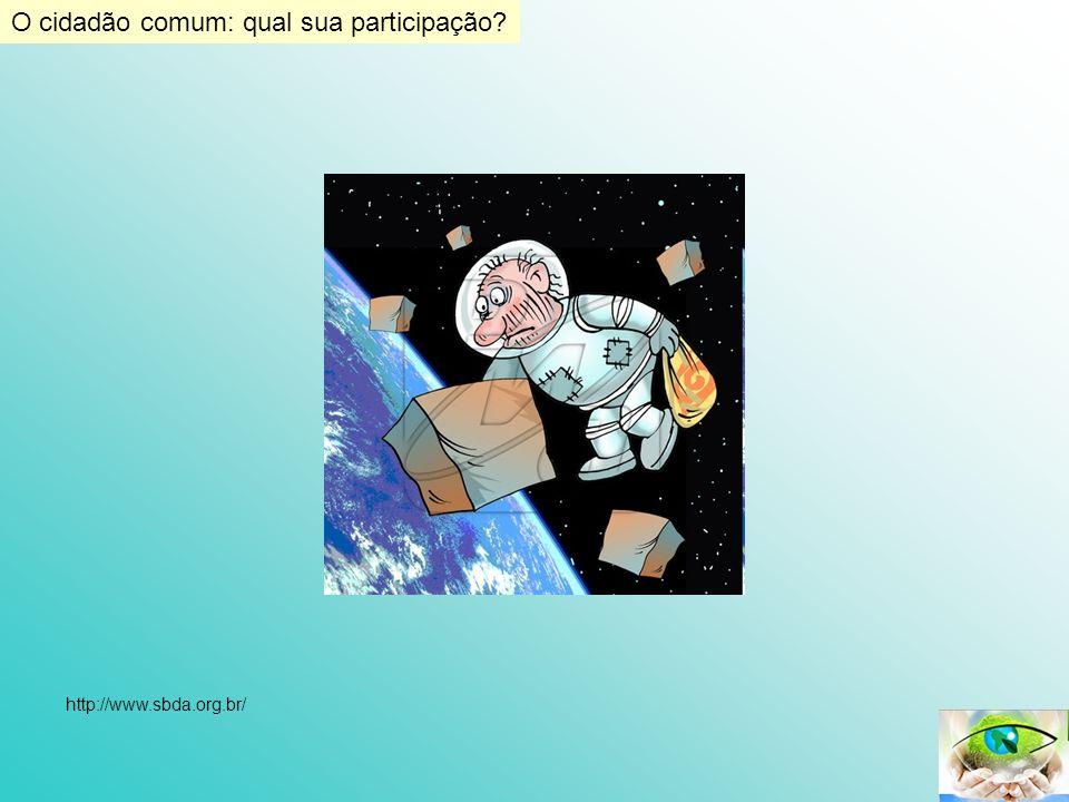 O cidadão comum: qual sua participação? http://www.sbda.org.br/