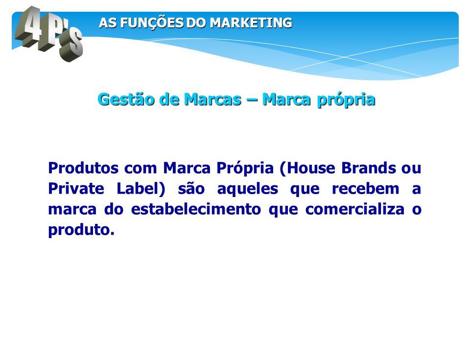 Produtos com Marca Própria (House Brands ou Private Label) são aqueles que recebem a marca do estabelecimento que comercializa o produto. Gestão de Ma