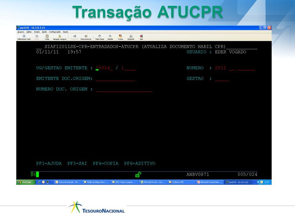 Transação ATUCPR