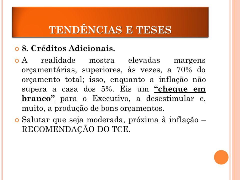 CRÉDITOS ADICIONAIS 8.Créditos Adicionais.