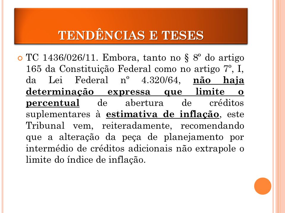 CRÉDITOS ADICIONAIS TC 1436/026/11.