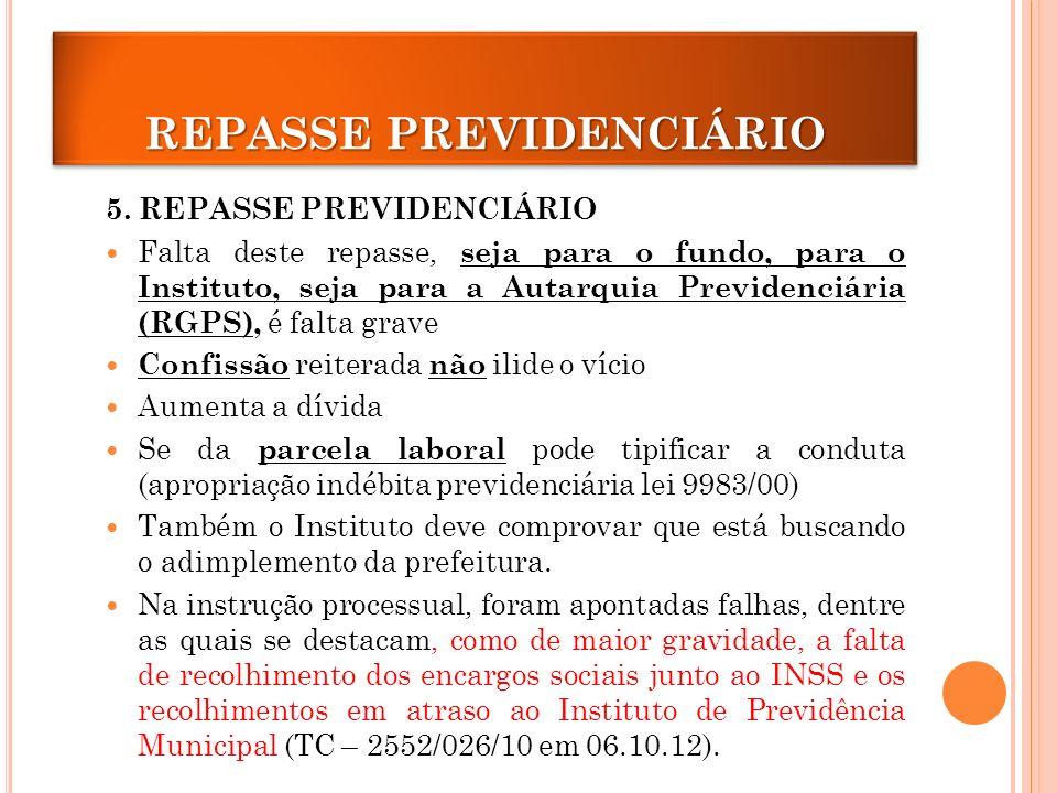 REPASSE PREVIDENCIÁRIO 5.