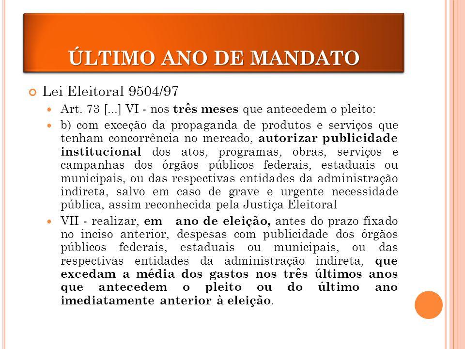 Lei Eleitoral 9504/97 Art.