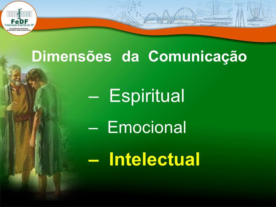– Espiritual – Emocional – Intelectual