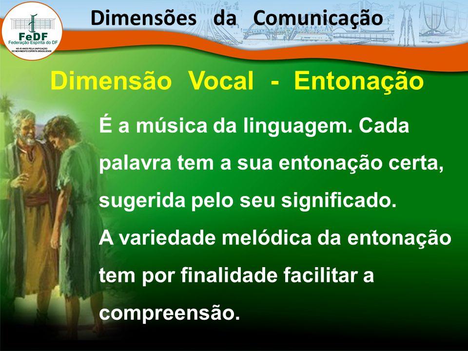 É a música da linguagem.Cada palavra tem a sua entonação certa, sugerida pelo seu significado.