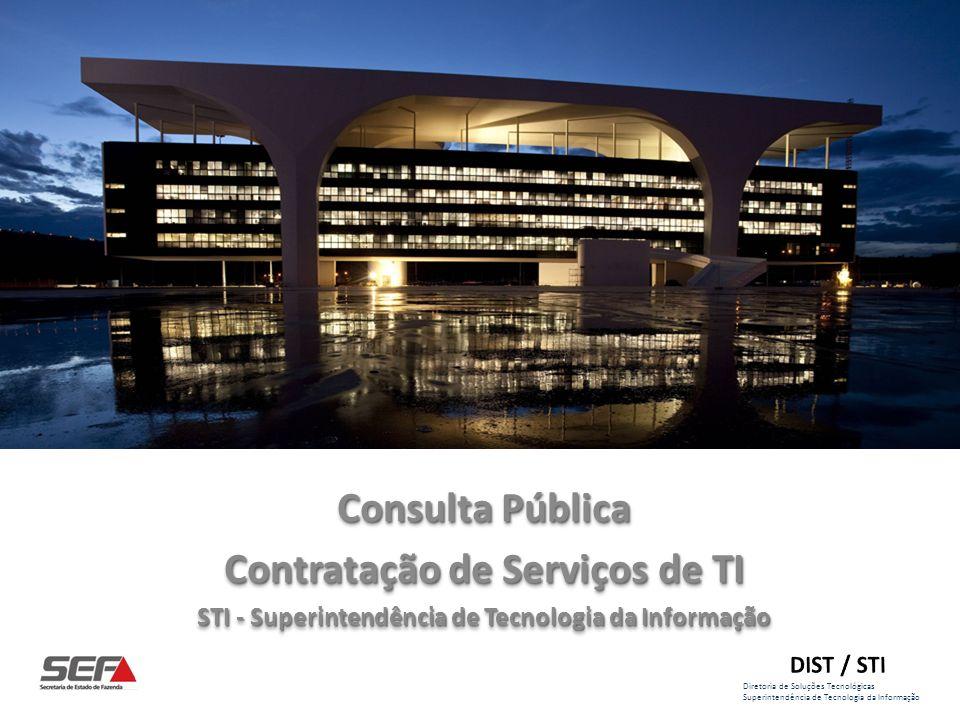 Diretoria de Soluções Tecnológicas Superintendência de Tecnologia da Informação