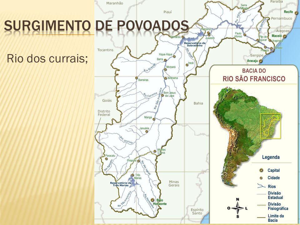 Rio dos currais;