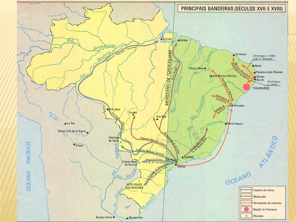 Fluxo 4: expansão da fronteira agrícola para as regiões Centro- Oeste e Norte do Brasil.