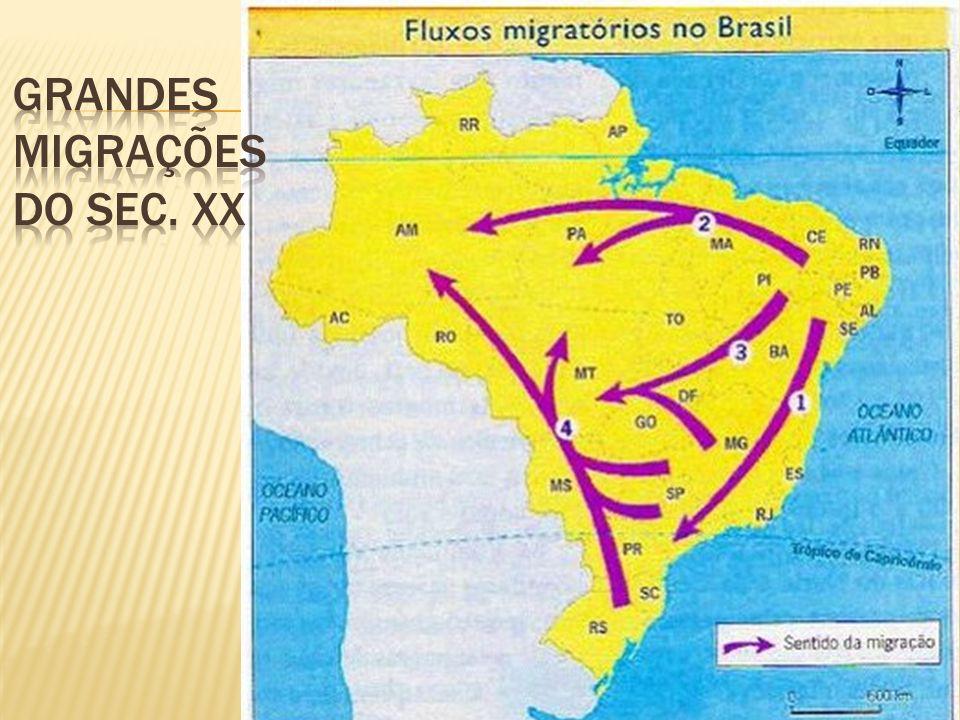 É temporária, onde o migrante sai de um determinado local, em determinado período do ano, e posteriormente volta, em outro período do ano.