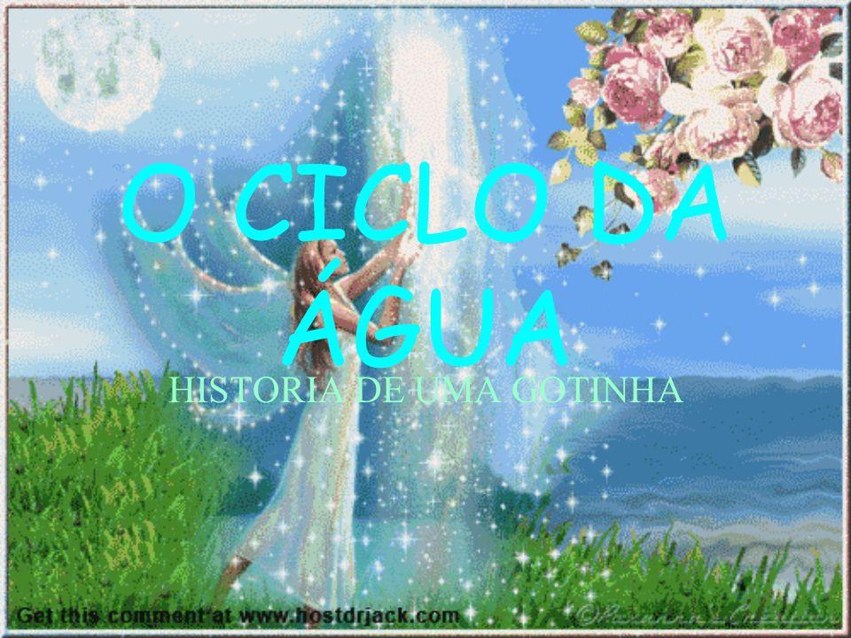 O CICLO DA ÁGUA HISTORIA DE UMA GOTINHA