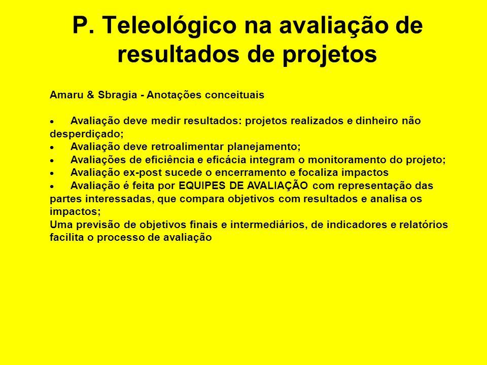 Princípio teleológico Inovação Competitividade vg.