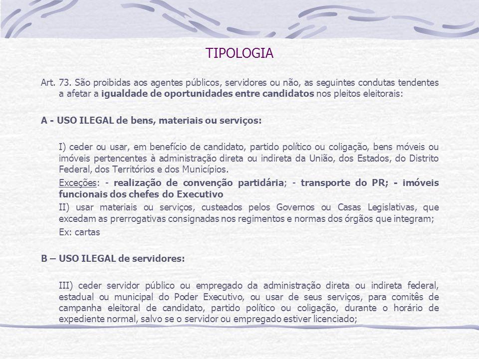 TIPOLOGIA Art.73.
