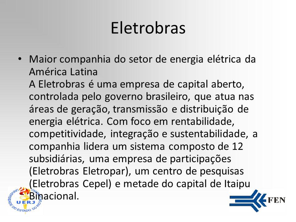 Apresentação de Estágio Supervisionado Aluno: Francisco Eduardo R. de Araújo Empresa: Eletrobras - Cepel