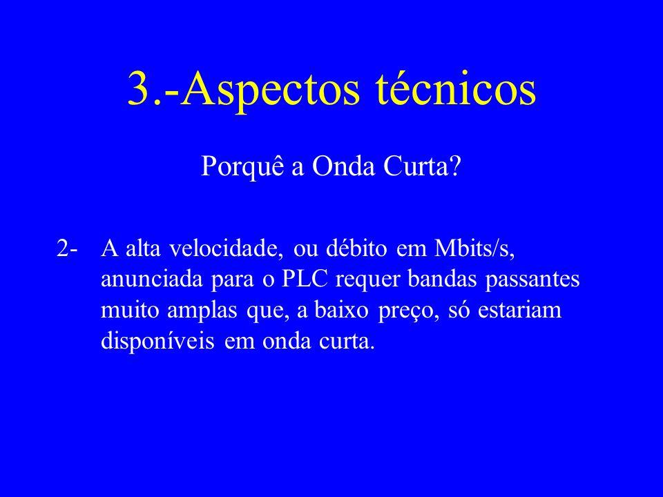 3.-Aspectos técnicos Porquê a Onda Curta.