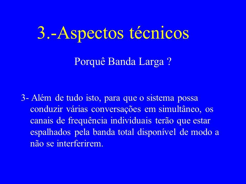 3.-Aspectos técnicos Porquê Banda Larga .