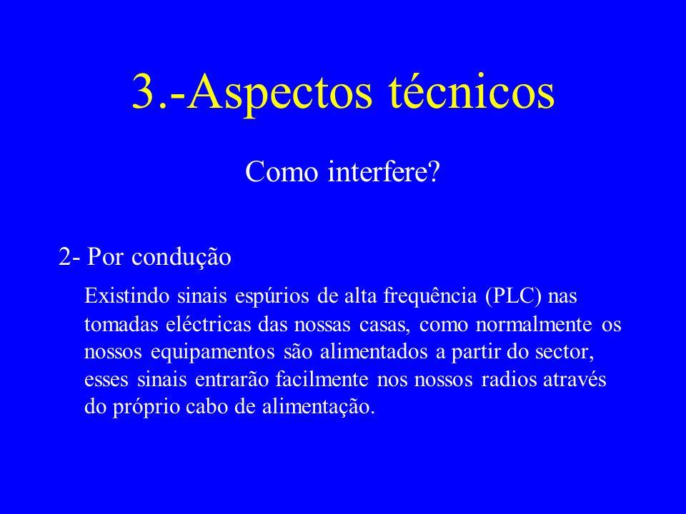 3.-Aspectos técnicos Como interfere.