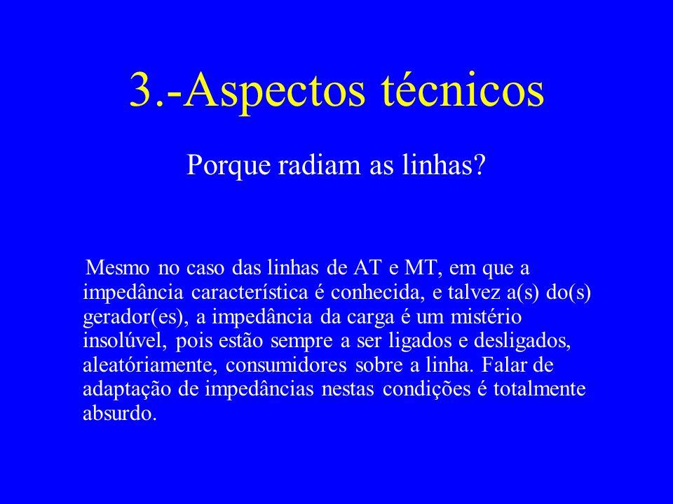 3.-Aspectos técnicos Porque radiam as linhas.