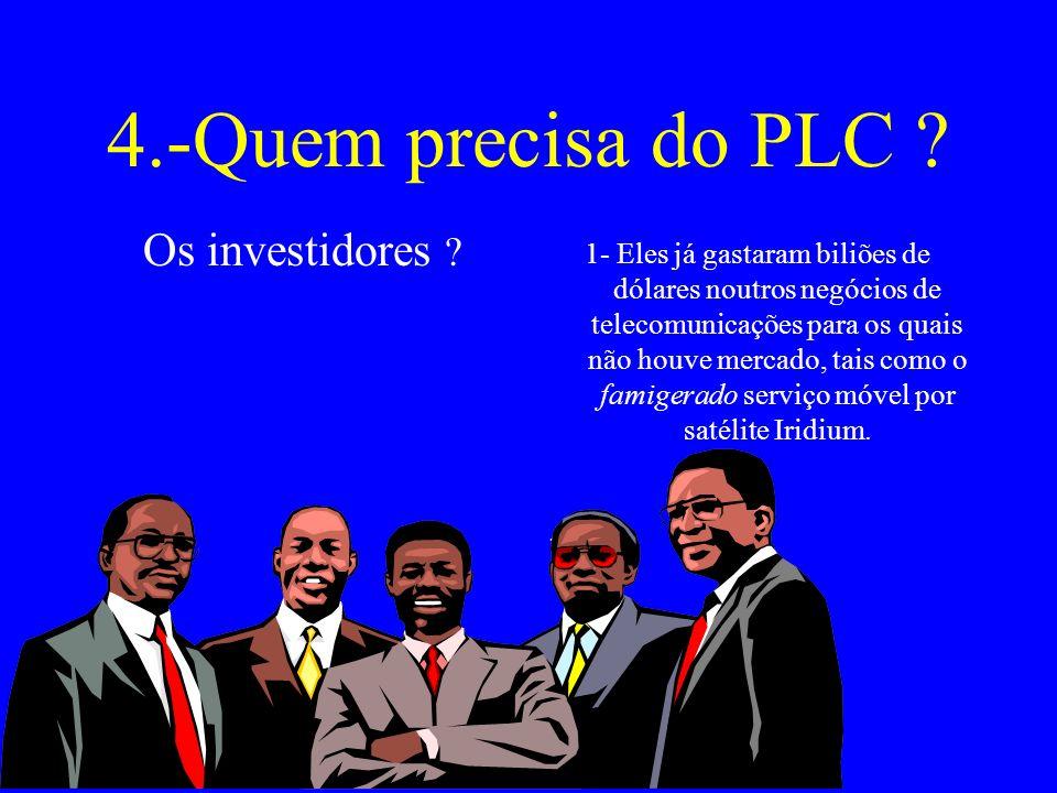 4.-Quem precisa do PLC .