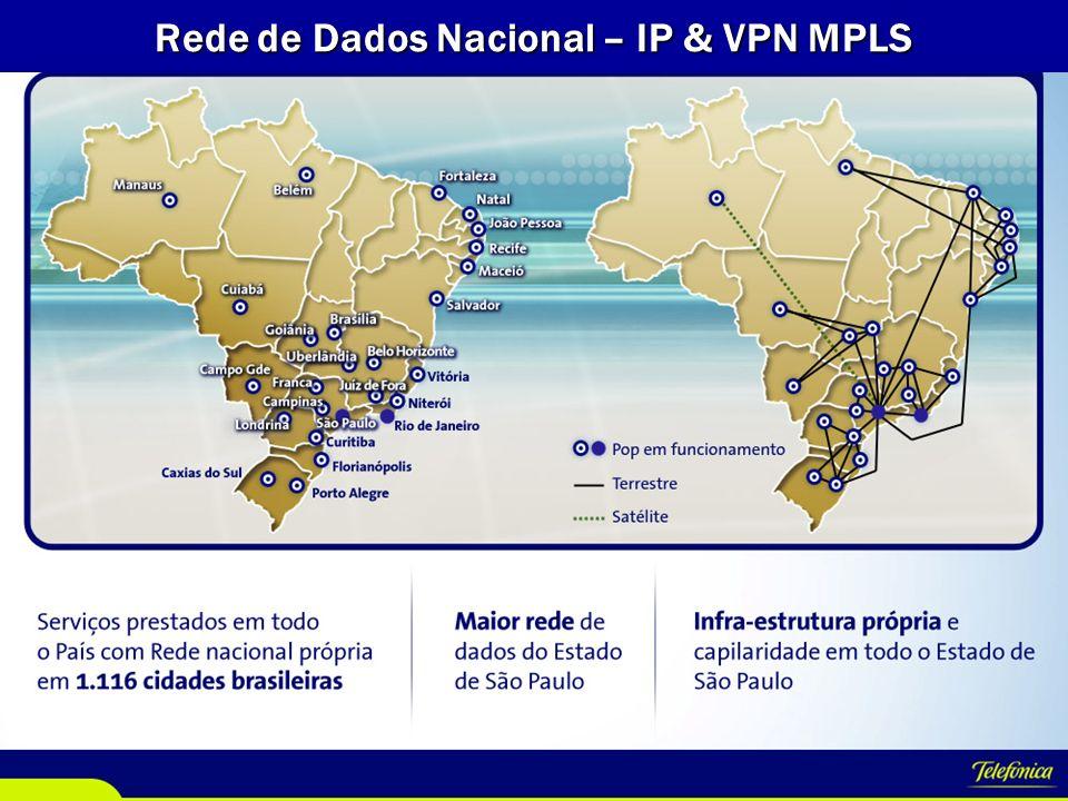 VP Empresas Data Centers - Telefônica A Telefônica possui infraestrutura de Data Center presente em 7 países