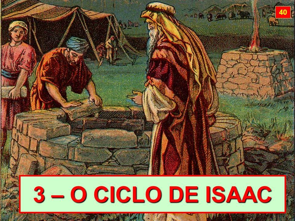 3 – O CICLO DE ISAAC 40