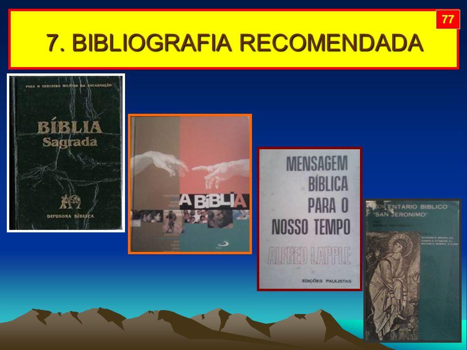 7. BIBLIOGRAFIA RECOMENDADA 77