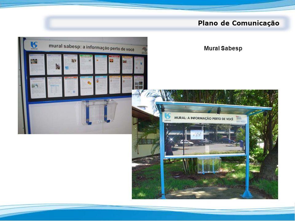 Plano de Comunicação Mural Sabesp