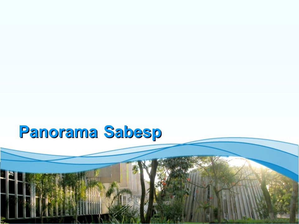 Panorama Sabesp
