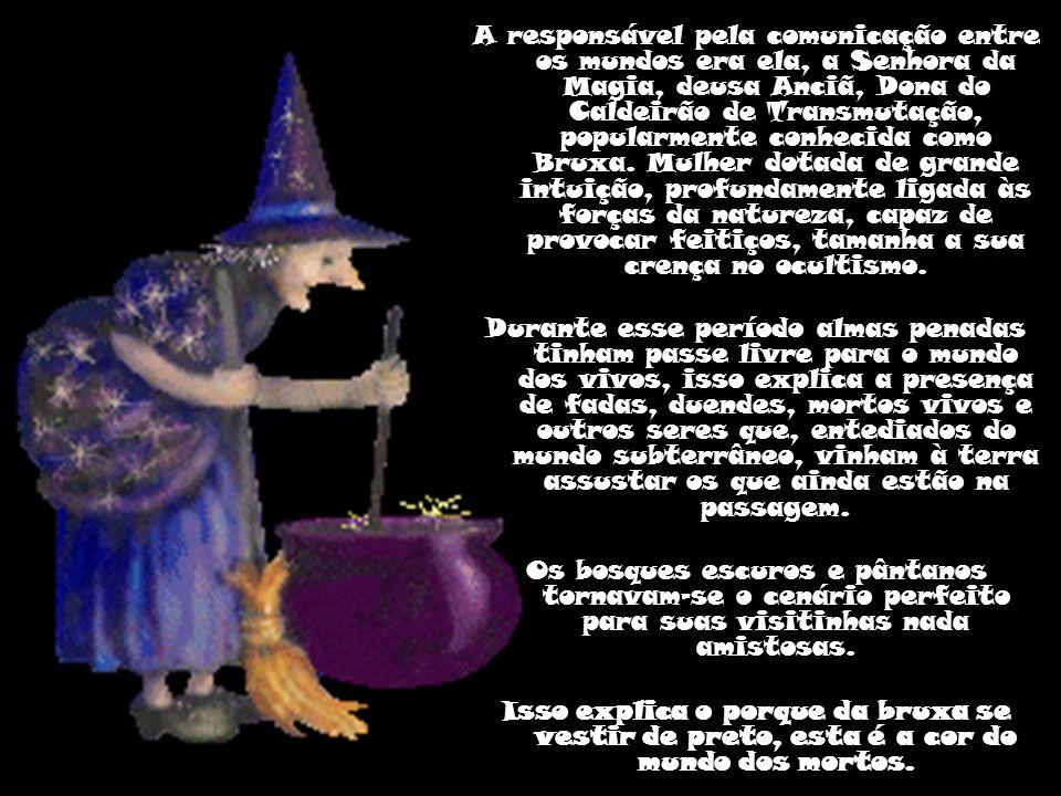 O Halloween é comemorado na noite de 31 de outubro.