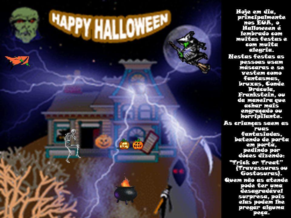 Existem diferentes lendas sobre a abóbora de halloween.