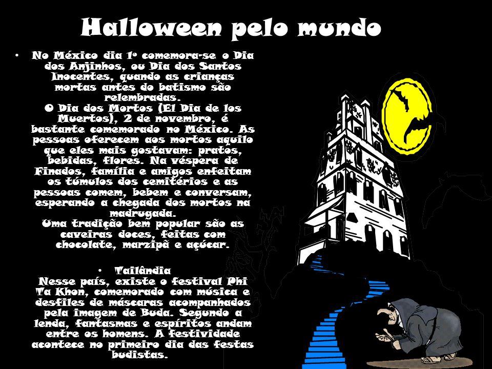 Os países de origem hispânica comemoram o Dia dos Mortos e não o Halloween.