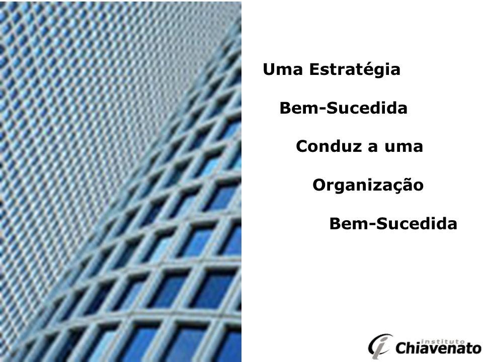 Uma Estratégia Bem-Sucedida Conduz a uma Organização Bem-Sucedida