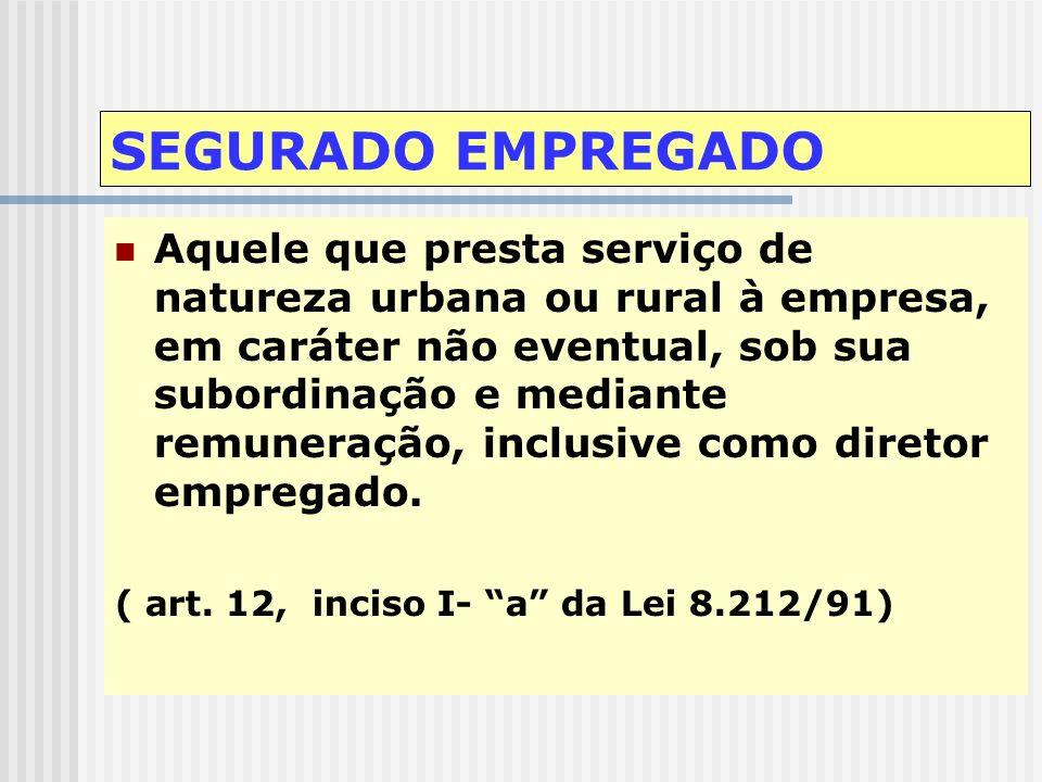 SEGURADOS A PARTIR DE 29/11/99 OBRIGATÓRIOS EMPREGADO EMPREGADO DOMÉSTICO CONTRIBUINTE INDIVIDUAL TRABALHADOR AVULSO SEGURADO ESPECIAL FACULTATIVOS MA