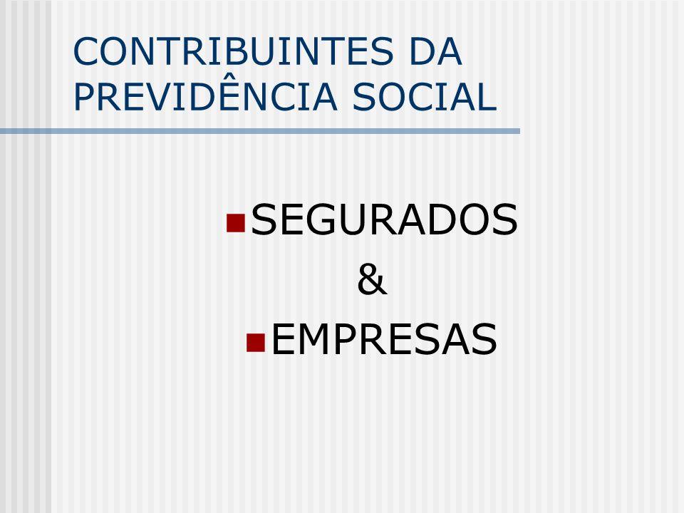 PREVIDÊNCIA SOCIAL QUEM PAGA A CONTA?