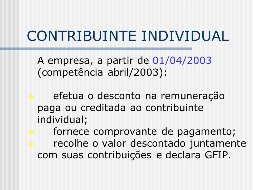 Comprovação do recolhimento da contribuição devida pela empresa: cópia da GFIP ou declaração da empresa.