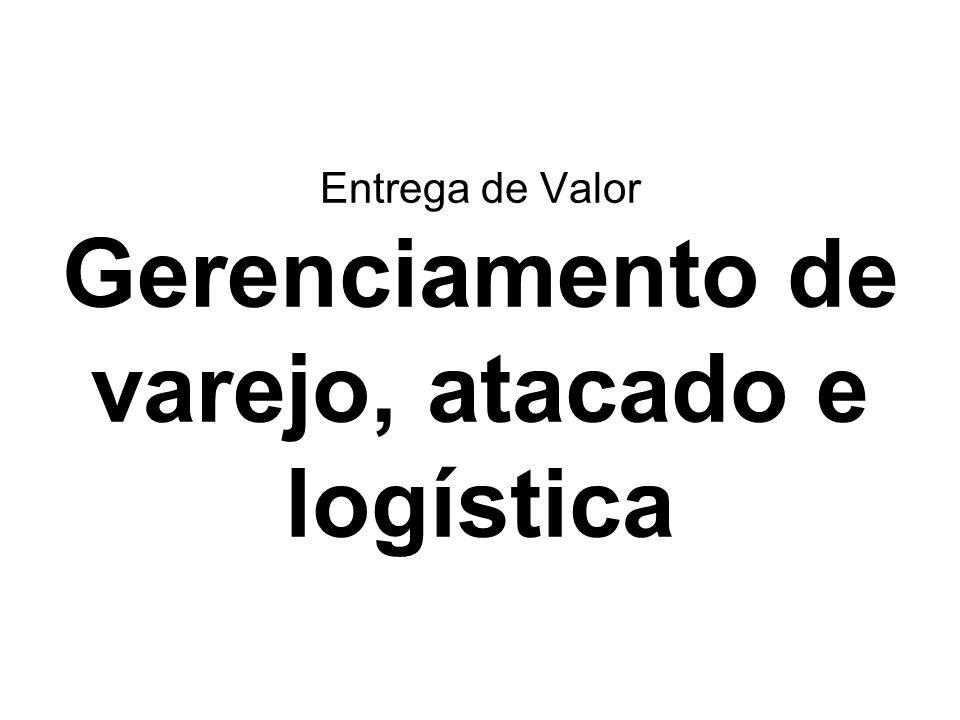 Entrega de Valor Gerenciamento de varejo, atacado e logística
