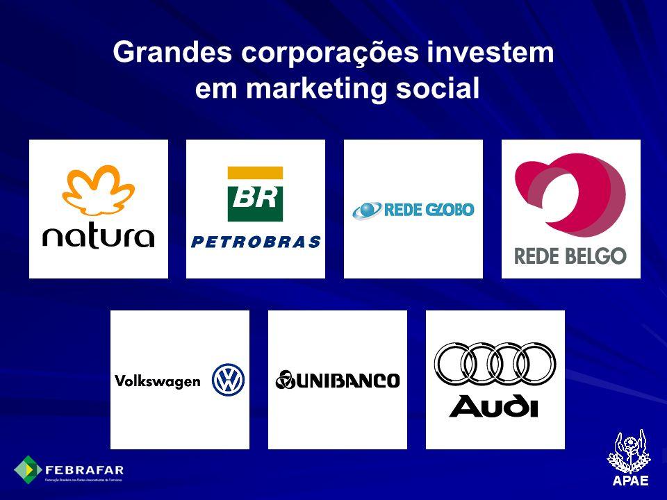 Grandes corporações investem em marketing social