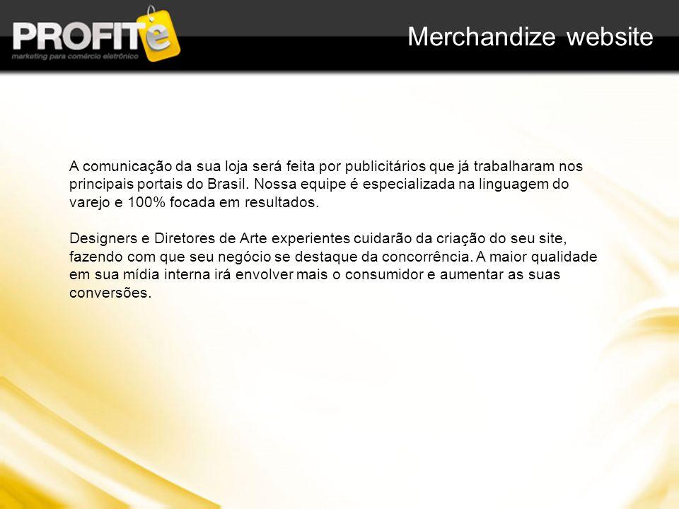 A comunicação da sua loja será feita por publicitários que já trabalharam nos principais portais do Brasil. Nossa equipe é especializada na linguagem