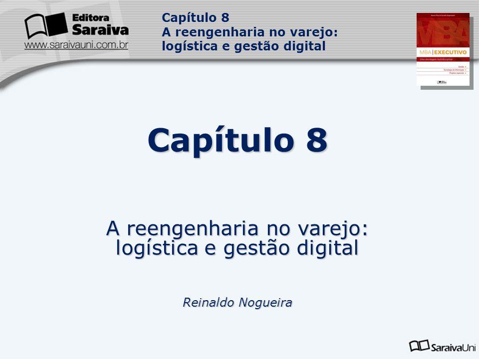Capítulo 8 A reengenharia no varejo: logística e gestão digital Capítulo 8 A reengenharia no varejo: logística e gestão digital Reinaldo Nogueira