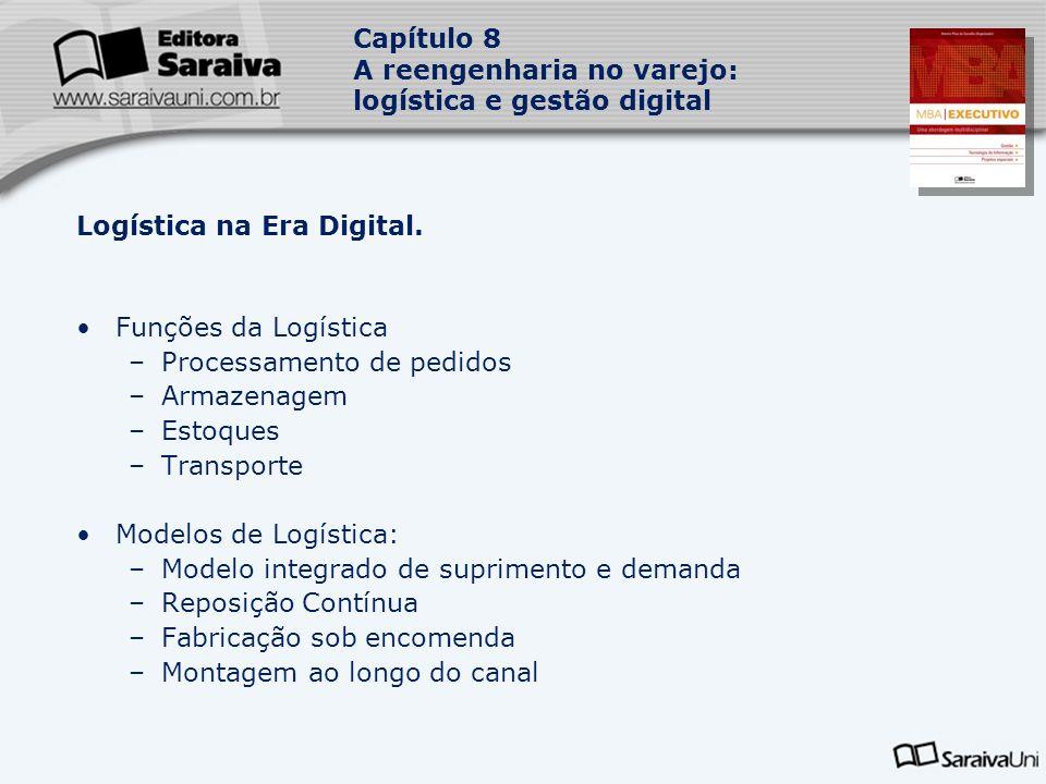 Capítulo 8 A reengenharia no varejo: logística e gestão digital Logística na Era Digital.