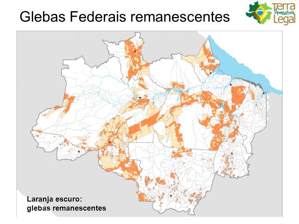 Etapas de regularização – Área Rural