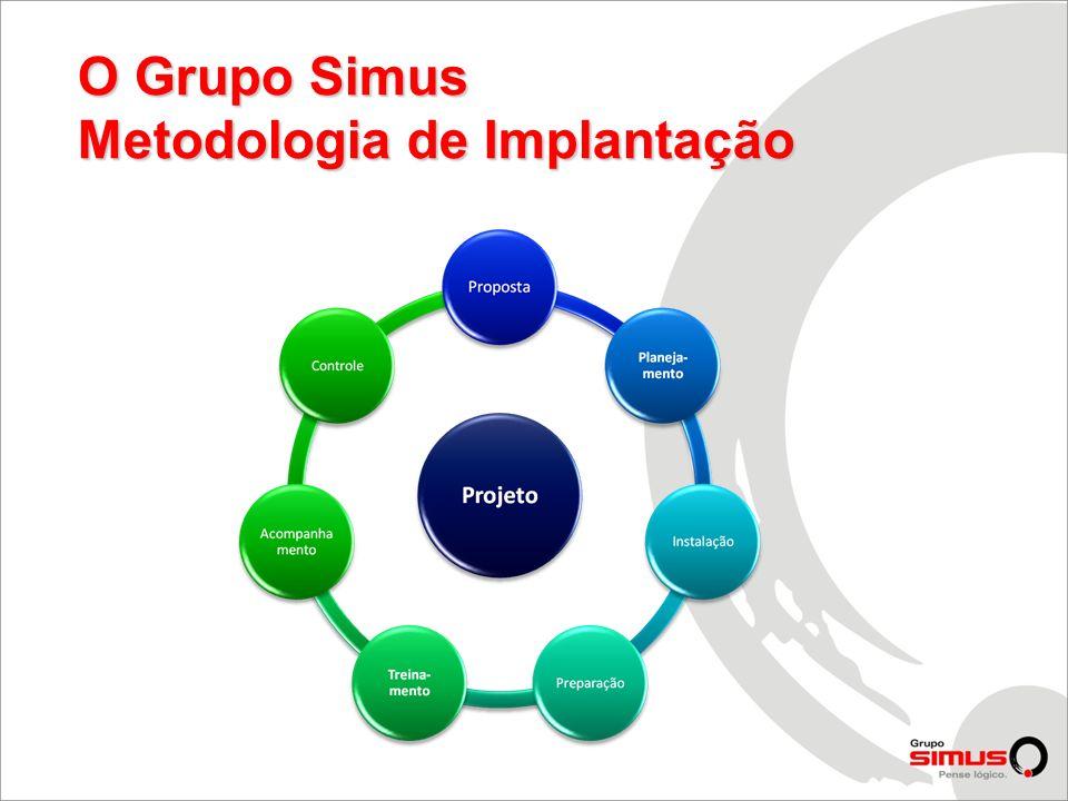 O Grupo Simus Metodologia de Implantação