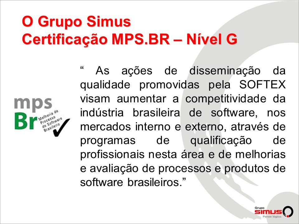 As ações de disseminação da qualidade promovidas pela SOFTEX visam aumentar a competitividade da indústria brasileira de software, nos mercados intern