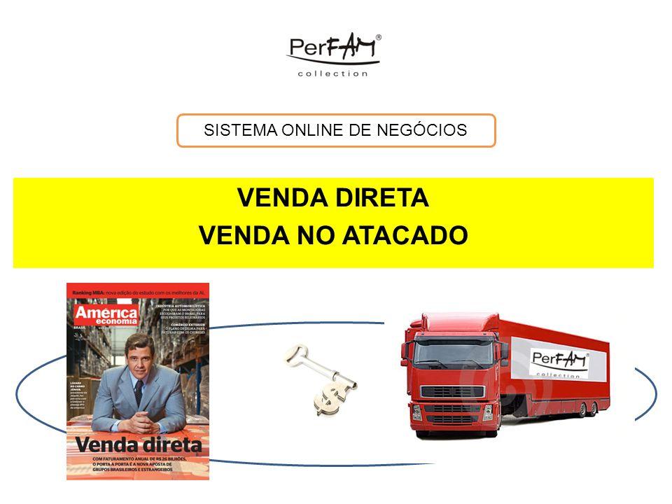 VENDA DIRETA VENDA NO ATACADO SISTEMA ONLINE DE NEGÓCIOS
